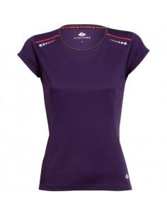 ATHLITECH Tshirt de running Abelia  Femme  Violet
