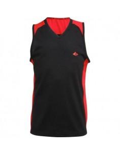 ATHLITECH Maillot de basketball Bastian TSM  Enfant garçon  Noir, gris et rouge