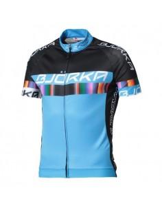 BJORKA Maillot de cyclisme Strada  Noir et bleu